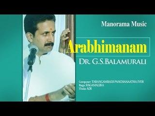 ARABHIMANAM   DR. G.S. BALAMURALI