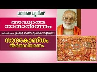 സുന്ദരകാണ്ഡം വിവരണം  | വെണ്മണി കൃഷ്ണൻ നമ്പൂതിരി