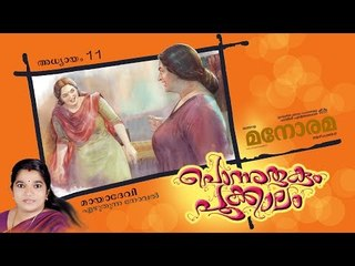 Chapter 11 | Ponnurukum Pookkalam | Maya Devi | Audio Book | Malayalam Novel | പൊന്നുരുകും പൂക്കാലം