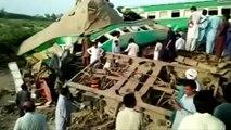 - Pakistan'da Tren Kazası- En Az 11 Ölü