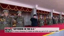N. Korea's ICBM-level Hwasong-15 capable of striking any part of U.S. mainland: USFK