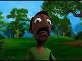చిరుతనుండి మనిషిని కాపాడిన నక్క | Chiruthanundi Manushini Kaapadina nakka | Telugu Kids Animation