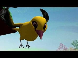 పూపి సాలీడు గోరింక | Poopi Saaleedu Gorinka | Telugu Kids Animation