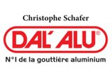 Christophe Schafer, franchisé indépendant Dal'Alu à Arville.