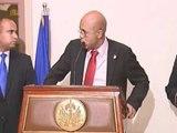 konferans pou lapres Prezidan repiblik la Michel Joseph martelly vandredi 9 desanm 2011.