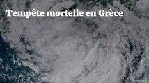 Six touristes tués par une tornade et de violents orages de grêle en Grèce