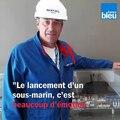 """Lancement du Suffren à Cherbourg : """"Une aventure humaine"""""""