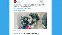 Salah Abdeslam touche 500 euros de l'Etat