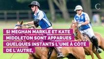 "PHOTOS. Meghan Markle et Kate Middleton se sont ""délibérément..."