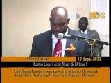 Enstalasyon Kinton Louis kòm 2em Majistra Delmas ak Ann Marie Andre Jeudy kòm 3em Majistra Delmas.