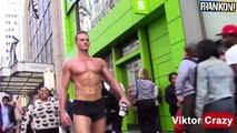 Muscle Man Walking In NYC For 5 Hours!