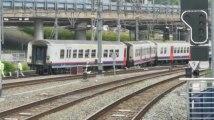Déraillement train Liège