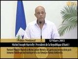 Rankont Prezidan Repiblik la Michel Joseph Martelly ak Laprès.