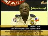 Prezantasyon bilan operasyon PNH la soti mwa janvye pou rive mwa fevriye 2013.