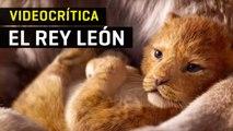 Videocrítica de El rey león (2019)