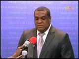 Le porte parole du premier ministre Michel Pierre Brunache - Pour les éléctions