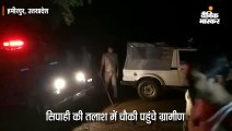छेड़खानी के आरोपी सिपाही को ढूंढते हुए चौकी पहुंचे ग्रामीणों ने की तोड़फोड़, पथराव में तीन कर्मी घायल