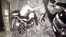 Eyüpsultan'da motosiklet hırsızları kamerada