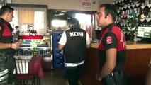 Adana'da sahte içki operasyonu:28 şişe etil alkol ve 238 şişe sahte ya da kaçak içki ele geçirildi