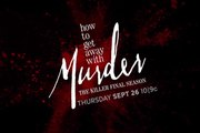 How To Get Away With Murder - Teaser Saison Finale