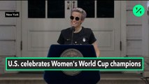 Megan Rapinoe, U.S. Women's National Soccer Team Co-Captain, Delivers Message of Unity