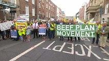 Irische Bauern protestieren gegen Mercosur-Abkommen mit der EU