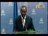 Le Secrétaire d'Etat à la Communication, M. Eddy Jackson Alexis a fait le point