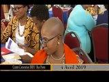 Le Ministère à la Condition Feminine et aux Droits des Femmes met fin a ces deux journées d'atelier.