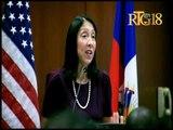 L'Ambassadrice des États-Unis d'Amérique en Haïti Michèle Jeanne Sison