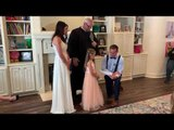 Stepdad Makes Separate Vows to His Wife's Daughter