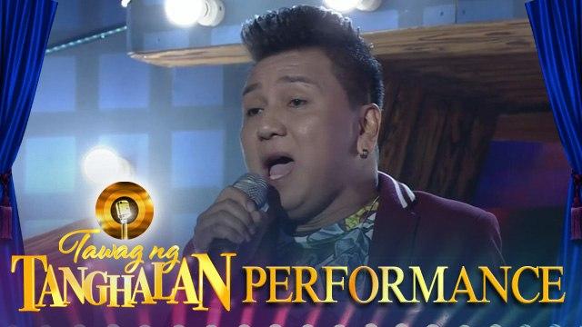 Romeo Caitona sings | Love Of My Life | Tawag Ng Tanghalan