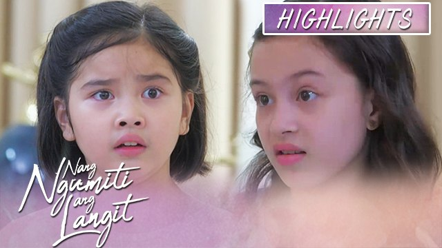 Mikmik gets shocked with Amber's revelation | Nang Ngumiti Ang Langit