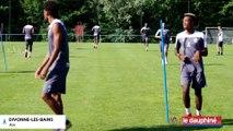 L'OGC Nice s'entraîne à Divonne