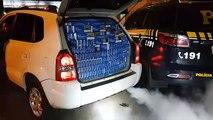Céu Azul: Tucson apreendido pela PRF tinha dispositivo de fumaça