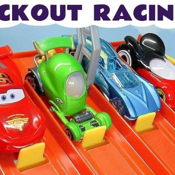 Hot Wheels Disney Pixar Cars 3 Lightning McQueen Racing with Marvel Avengers 4 & DC Comics with Transformers Optimus Prime and PJ Masks Full episode Toy Story