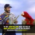 Robin Williams Hilarious Outtakes With Elmo