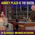 Aubrey Plaza's Awkward Interviews Are Amazing