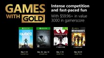 December Games with Gold
