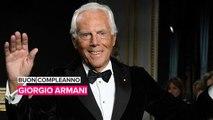 Auguri Re Giorgio: Armani compie 85 anni