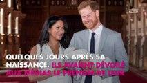 Meghan Markle et le Prince Harry : Le prénom de leur fils Archie au top des tendances