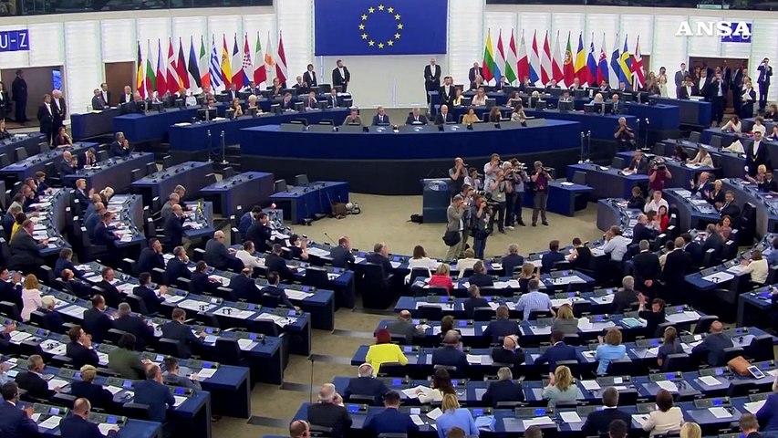Sassoli eletto presidente del Parlamento Ue