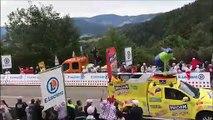 La Caravane du Tour passe au Col des Croix