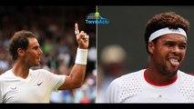 Wimbledon 2019 - Jo-Wilfried Tsonga   Rafael Nadal était partout !