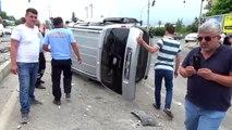 Erdemli'de trafik kazası