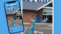 """Une cliente de Carrefour se fait réprimander pour une tenue jugée """"inappropriée"""""""