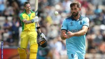 ICC Cricket World Cup 2019 : Australia VS England Semi final:Australia Bowled Out For 223 Runs