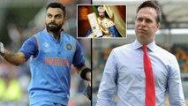 ICC World Cup 2019 : Michael Vaughan Trolls Virat Kohli After Semi Final Match || Oneindia Telugu