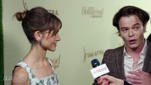 'Stranger Things' Stars Natalia Dyer and Charlie Heaton Love 'Barry'  Emmy Nominees Night 2018