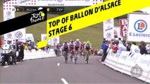 Sommet du Ballon d'Alsace / Top of Ballon d'Alsace - Étape 6 / Stage 6 - Tour de France 2019