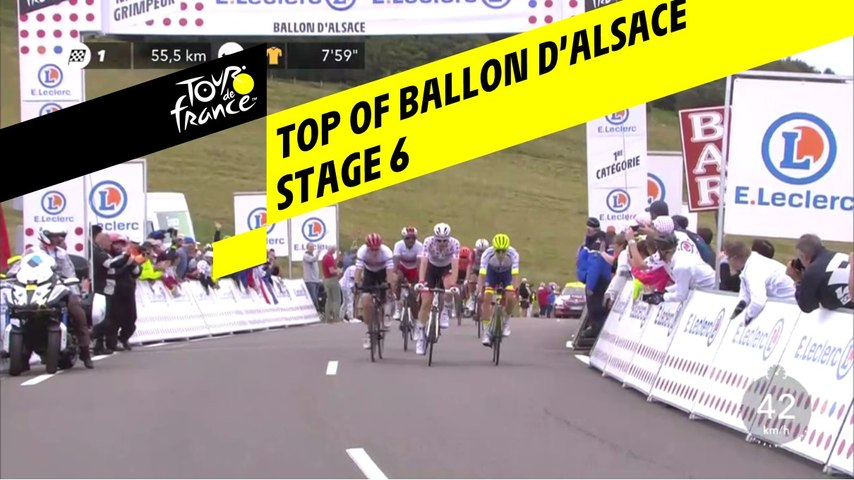 Sommet du Ballon d'Alsace / Top of Ballon d'Alsace - Étape 6 / Stage 6 - Tour de France 2019